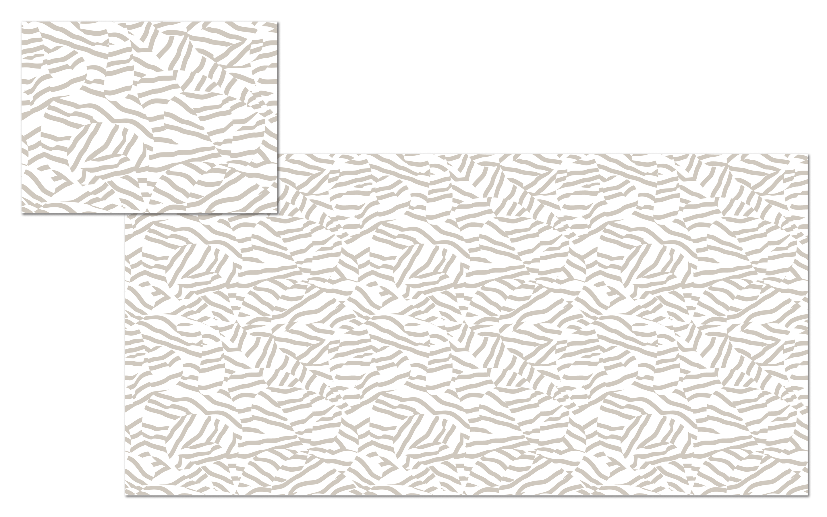 Vector Pattern Tile, created for 9' space